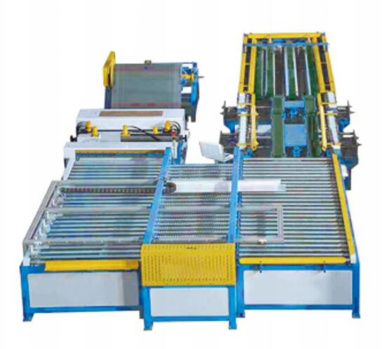Automatic air duct production
